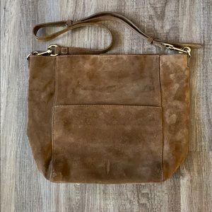 Thacker Soft Leather Over the Shoulder Bag